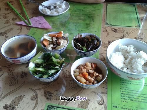 """Photo of Happiness Vegetarian  by <a href=""""/members/profile/Kiko"""">Kiko</a> <br/>Set Meal <br/> November 7, 2013  - <a href='/contact/abuse/image/43061/58130'>Report</a>"""