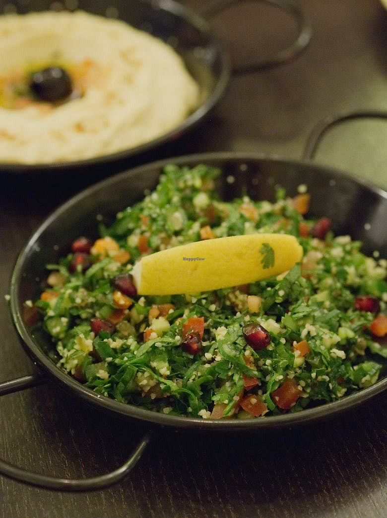 "Photo of Yeni Restaurant  by <a href=""/members/profile/EmmaFaeEdinburgh"">EmmaFaeEdinburgh</a> <br/>Tabbouleh at Yeni Meze Bar <br/> February 4, 2018  - <a href='/contact/abuse/image/43109/354937'>Report</a>"