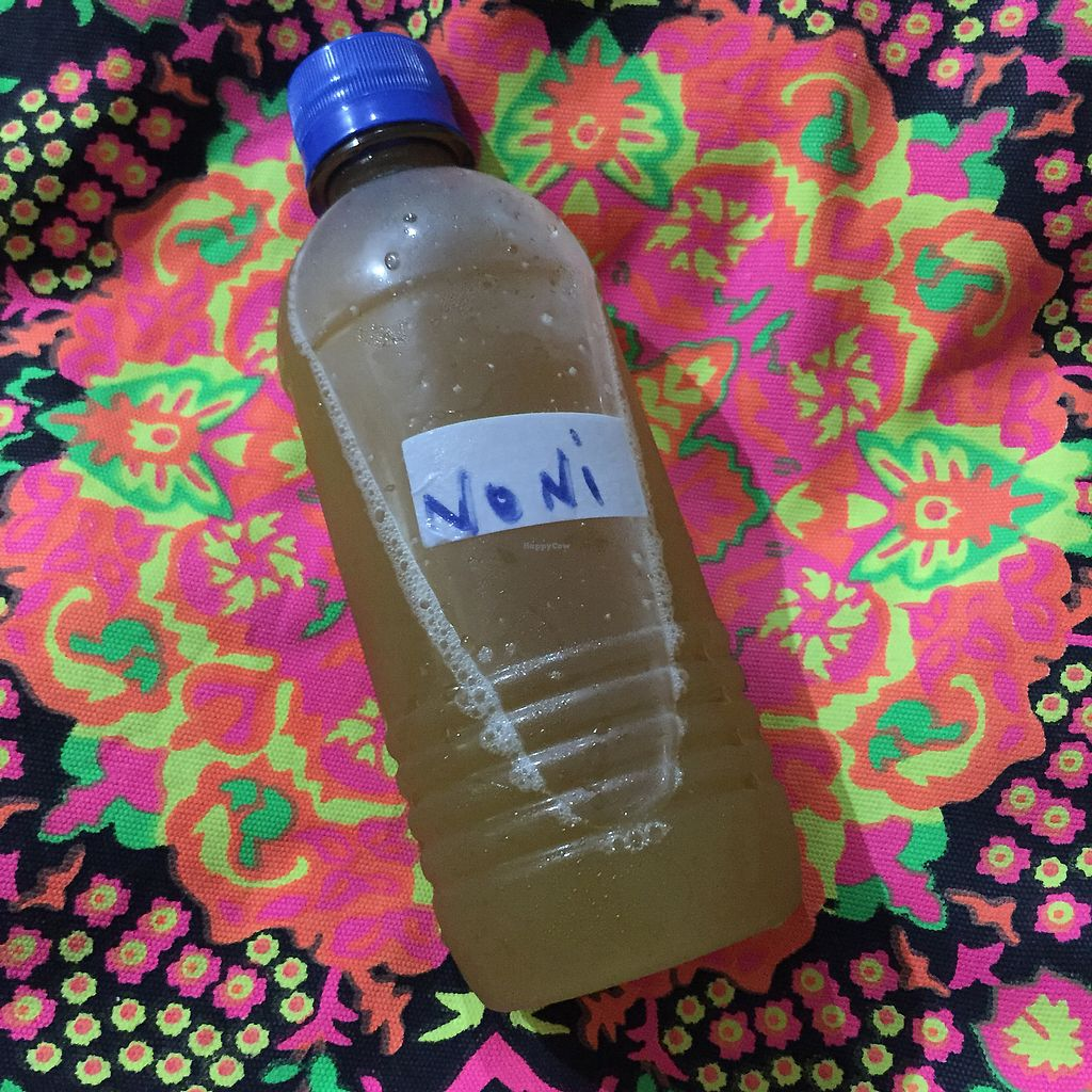 "Photo of Indo Restaurant  by <a href=""/members/profile/Eefie"">Eefie</a> <br/>Home made noni juice <br/> October 9, 2017  - <a href='/contact/abuse/image/43112/313402'>Report</a>"