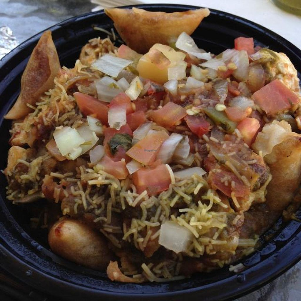 """Photo of Curry Up Now  by <a href=""""/members/profile/AshleyLorden"""">AshleyLorden</a> <br/>deconstructed samosa <br/> April 14, 2014  - <a href='/contact/abuse/image/43114/67624'>Report</a>"""