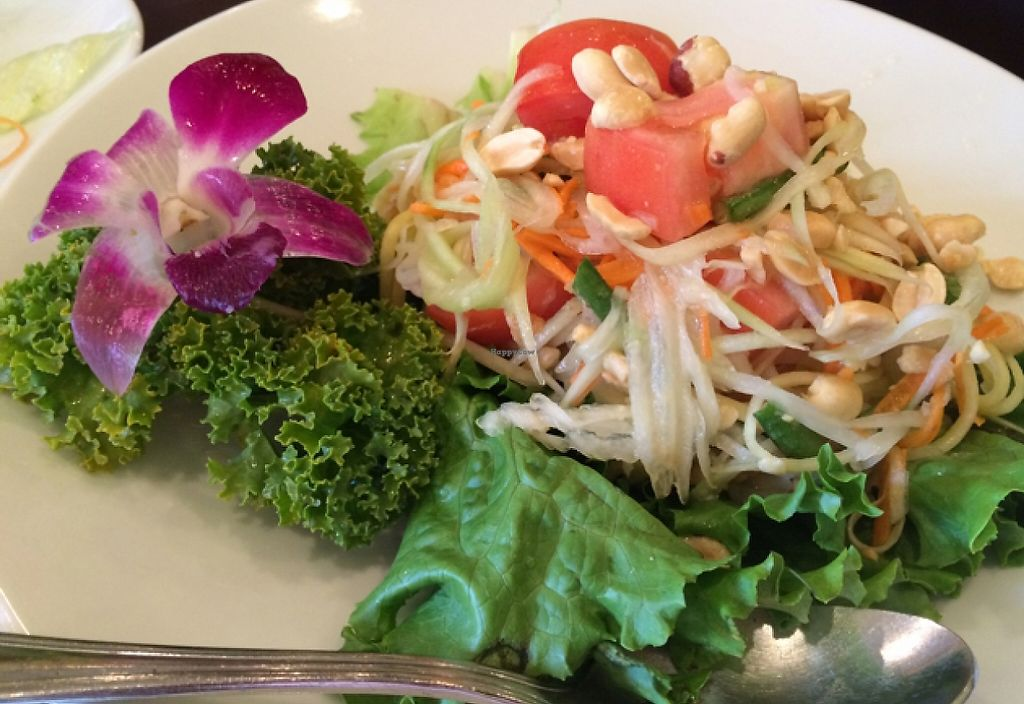 "Photo of Thai House  by <a href=""/members/profile/Siup"">Siup</a> <br/>papaya salad  <br/> December 2, 2015  - <a href='/contact/abuse/image/43128/196737'>Report</a>"
