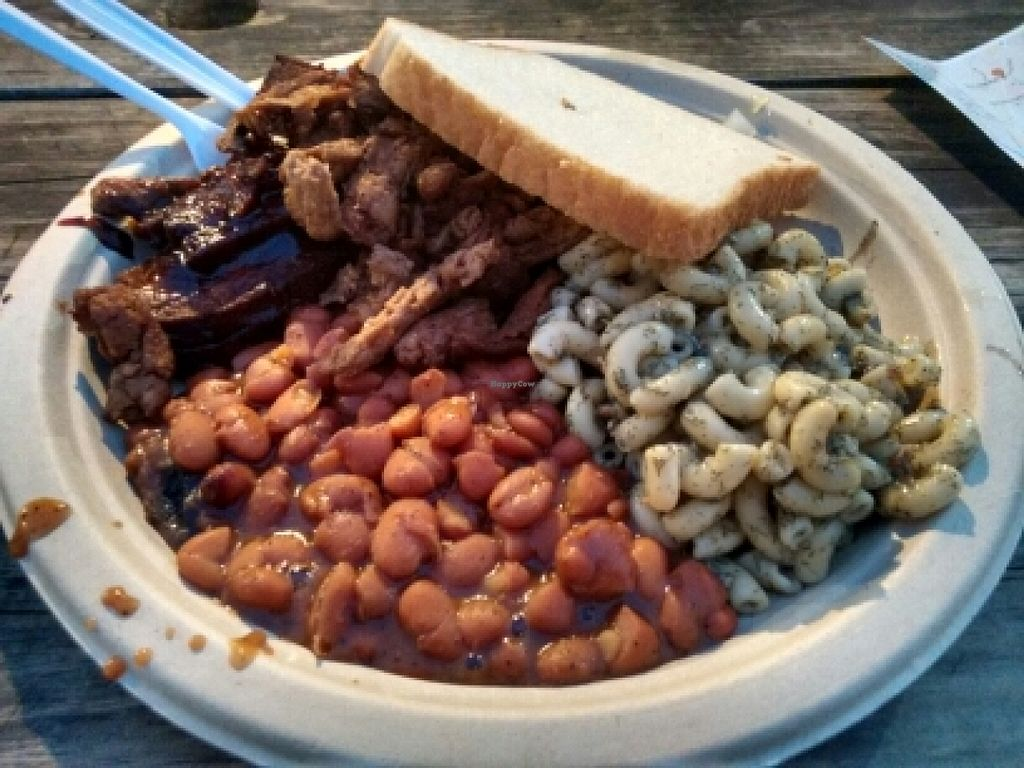 "Photo of BBQ Revolution  by <a href=""/members/profile/HyperVegan"">HyperVegan</a> <br/>BBQ plate <br/> December 26, 2015  - <a href='/contact/abuse/image/43160/129916'>Report</a>"