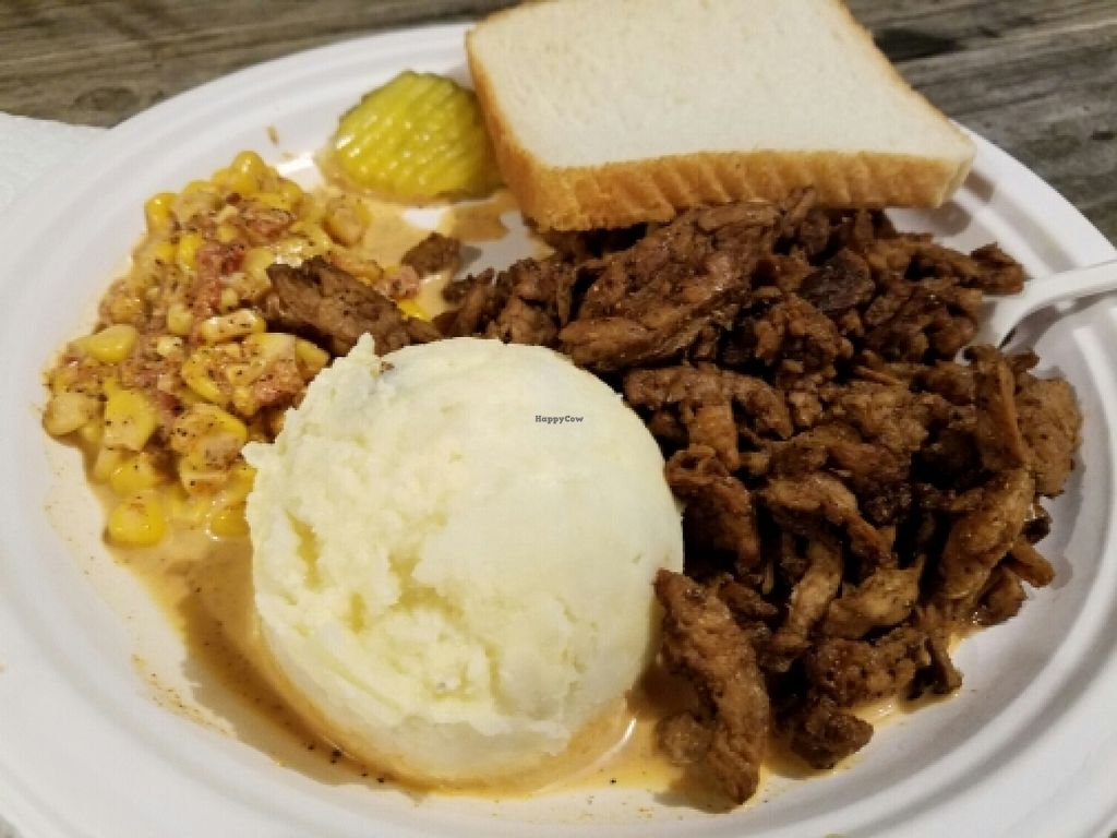 "Photo of BBQ Revolution  by <a href=""/members/profile/EverydayTastiness"">EverydayTastiness</a> <br/>sit curls, corn, potato salad <br/> April 8, 2016  - <a href='/contact/abuse/image/43160/143476'>Report</a>"