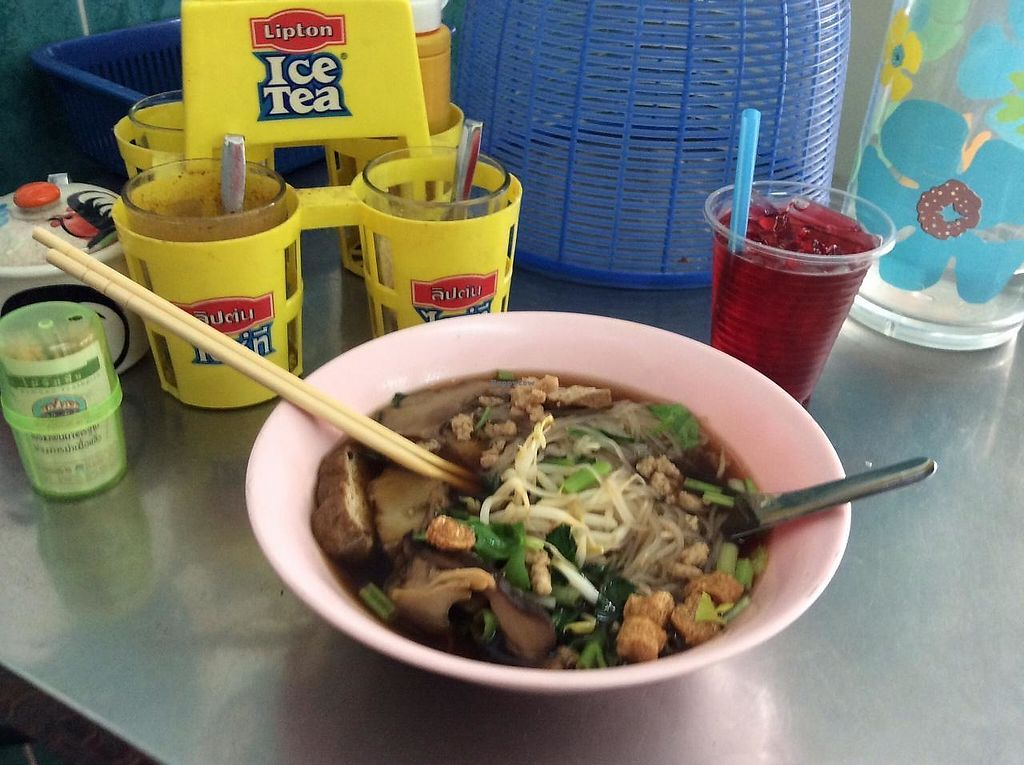 """Photo of Kob Chai 1  by <a href=""""/members/profile/SeaforthKaren"""">SeaforthKaren</a> <br/>The best noodles in Bangkok <br/> March 15, 2014  - <a href='/contact/abuse/image/43213/268581'>Report</a>"""