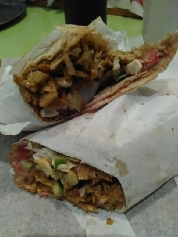 "Photo of The Vegetarian Shawarma  by <a href=""/members/profile/L%C3%B6weDavid"">LöweDavid</a> <br/>Vegan Sharwarma <br/> July 17, 2016  - <a href='/contact/abuse/image/43214/160390'>Report</a>"