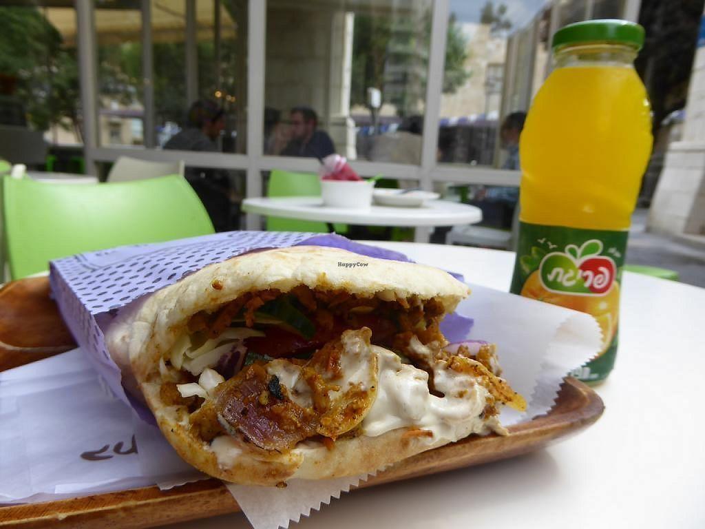 "Photo of The Vegetarian Shawarma  by <a href=""/members/profile/VeganNatascha"">VeganNatascha</a> <br/>Vegan Shawarma <br/> June 4, 2017  - <a href='/contact/abuse/image/43214/265597'>Report</a>"