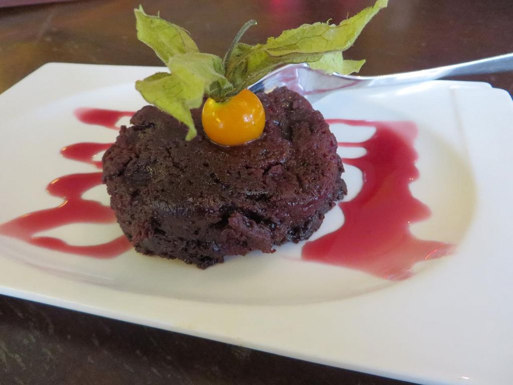 """Photo of Moccaklatsch  by <a href=""""/members/profile/VegiAnna"""">VegiAnna</a> <br/>chocolate brownie (vegan) <br/> September 22, 2014  - <a href='/contact/abuse/image/43235/80654'>Report</a>"""