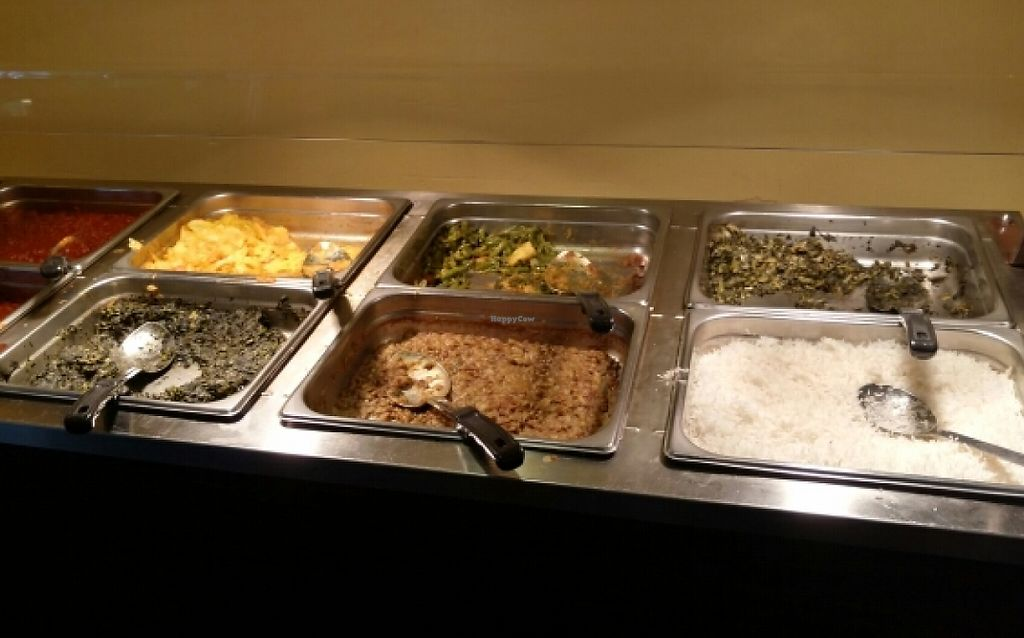 "Photo of Alem Ethiopian Village  by <a href=""/members/profile/Kmik05"">Kmik05</a> <br/>cooked portion of vegan lunch buffet <br/> May 17, 2016  - <a href='/contact/abuse/image/43249/233779'>Report</a>"