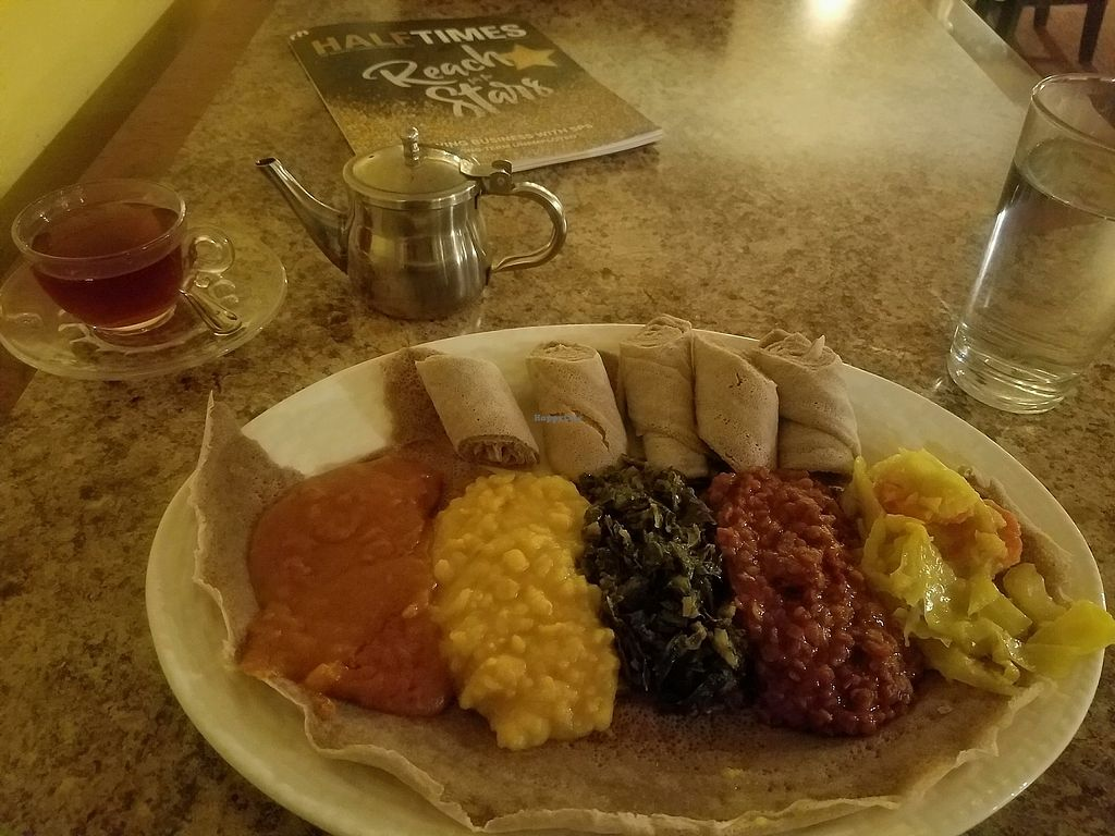 "Photo of Alem Ethiopian Village  by <a href=""/members/profile/Regan"">Regan</a> <br/>Vegetarian Sampler <br/> November 10, 2017  - <a href='/contact/abuse/image/43249/323732'>Report</a>"