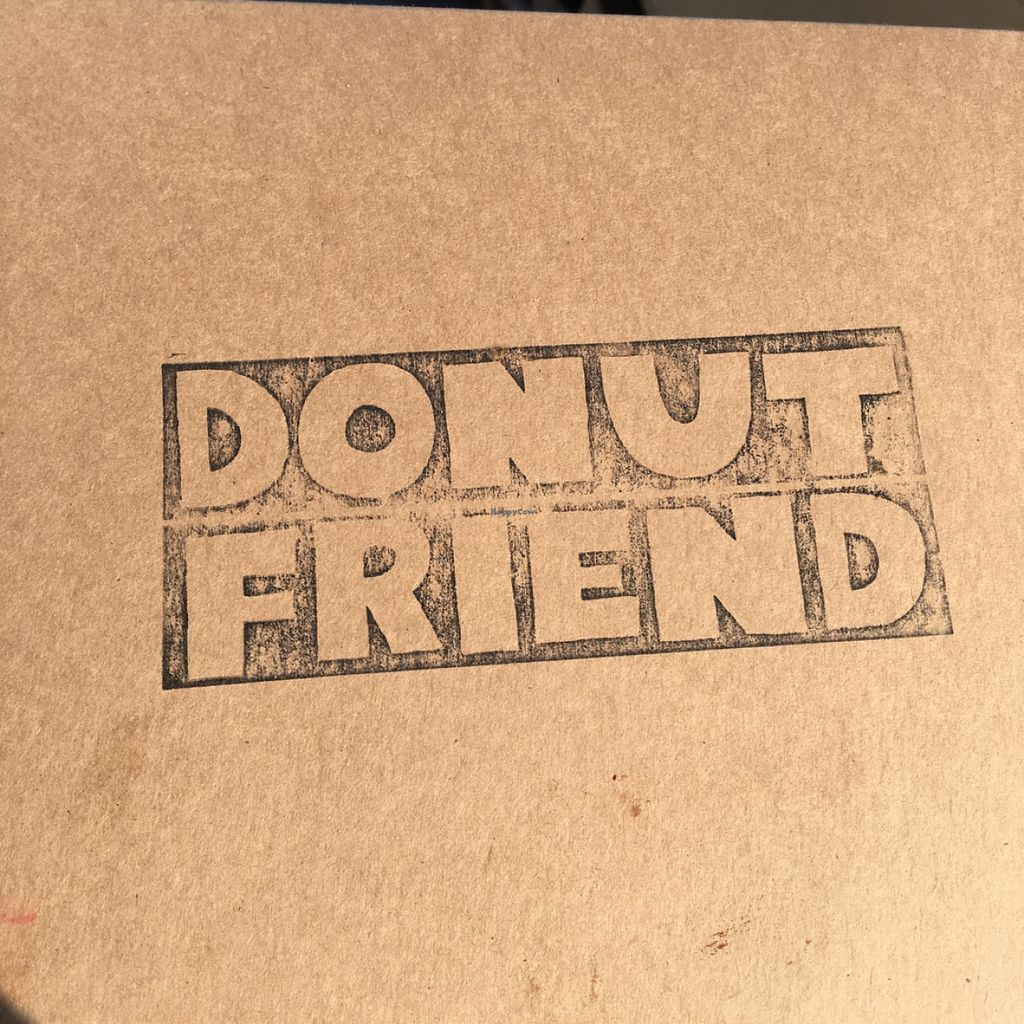"""Photo of Donut Friend  by <a href=""""/members/profile/xmrfigx"""">xmrfigx</a> <br/>Cool logo on the box <br/> May 1, 2016  - <a href='/contact/abuse/image/43258/147036'>Report</a>"""