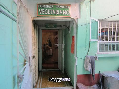 """Photo of Comedor Familiar Vegetariano  by <a href=""""/members/profile/tsmith6"""">tsmith6</a> <br/>Second floor entry.  This restaurant is not handicap accessible <br/> November 23, 2013  - <a href='/contact/abuse/image/43269/58881'>Report</a>"""