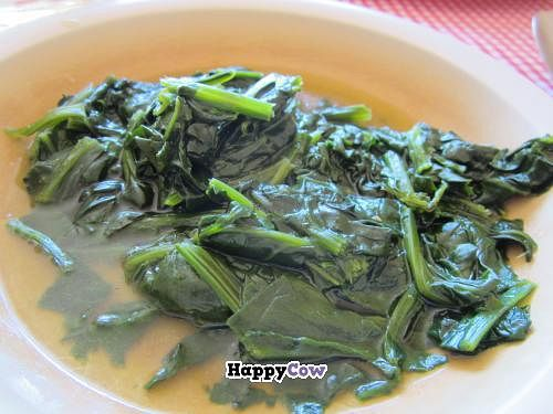 """Photo of Comedor Familiar Vegetariano  by <a href=""""/members/profile/tsmith6"""">tsmith6</a> <br/>cooked spinach <br/> November 23, 2013  - <a href='/contact/abuse/image/43269/58888'>Report</a>"""