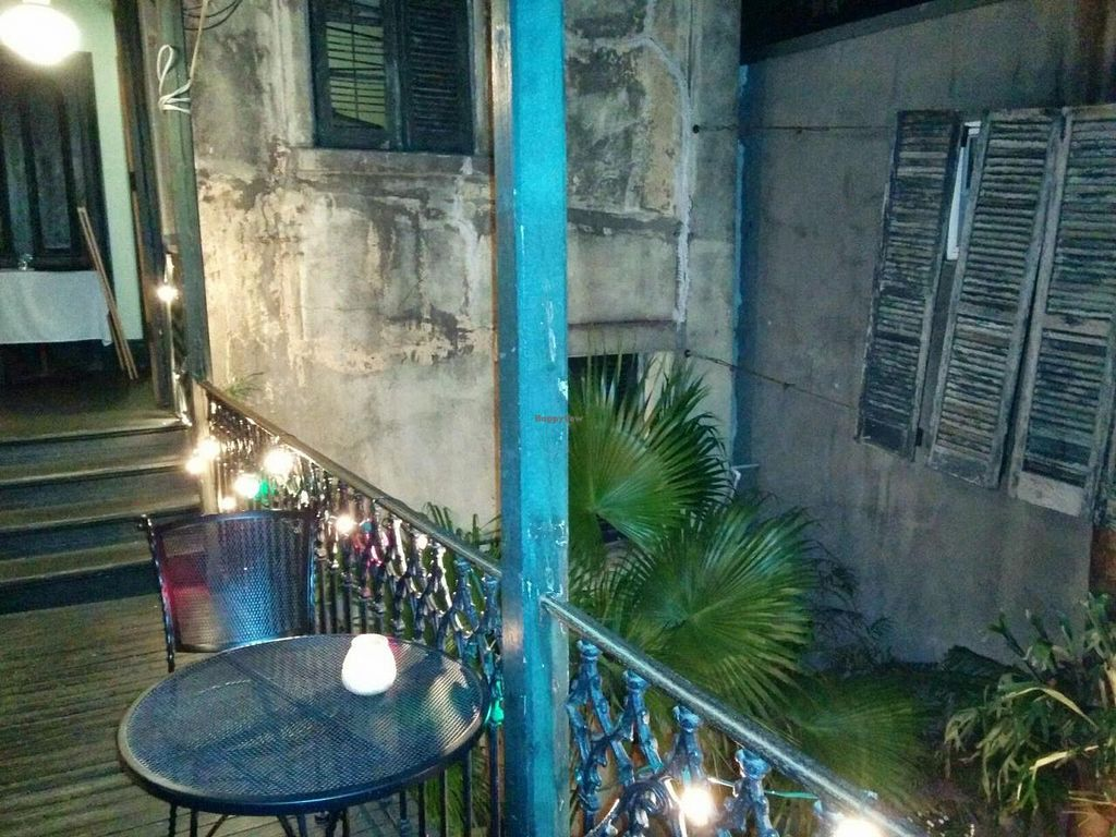 """Photo of CLOSED: Bhava  by <a href=""""/members/profile/mmeghani"""">mmeghani</a> <br/>Dining area overlooking a nice courtyard to the side & below <br/> May 22, 2014  - <a href='/contact/abuse/image/43281/70498'>Report</a>"""