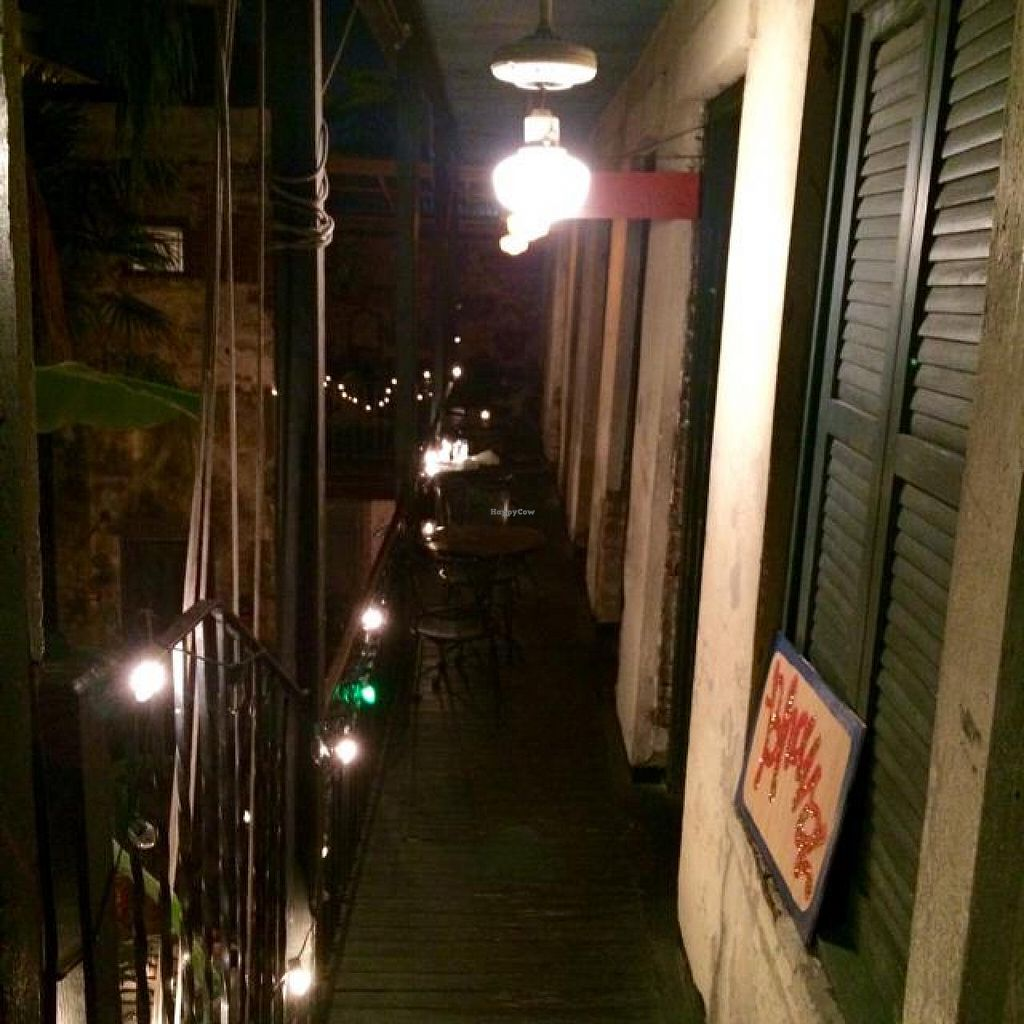 """Photo of CLOSED: Bhava  by <a href=""""/members/profile/Alcark"""">Alcark</a> <br/>outdoor seating  <br/> November 9, 2014  - <a href='/contact/abuse/image/43281/85073'>Report</a>"""