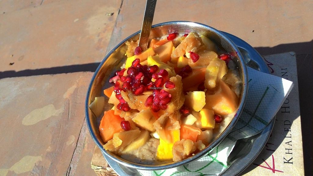 "Photo of The Juice House  by <a href=""/members/profile/RenkeFlexanist"">RenkeFlexanist</a> <br/>90 Inr mixed fruit soy porridge <br/> December 24, 2014  - <a href='/contact/abuse/image/43343/88597'>Report</a>"