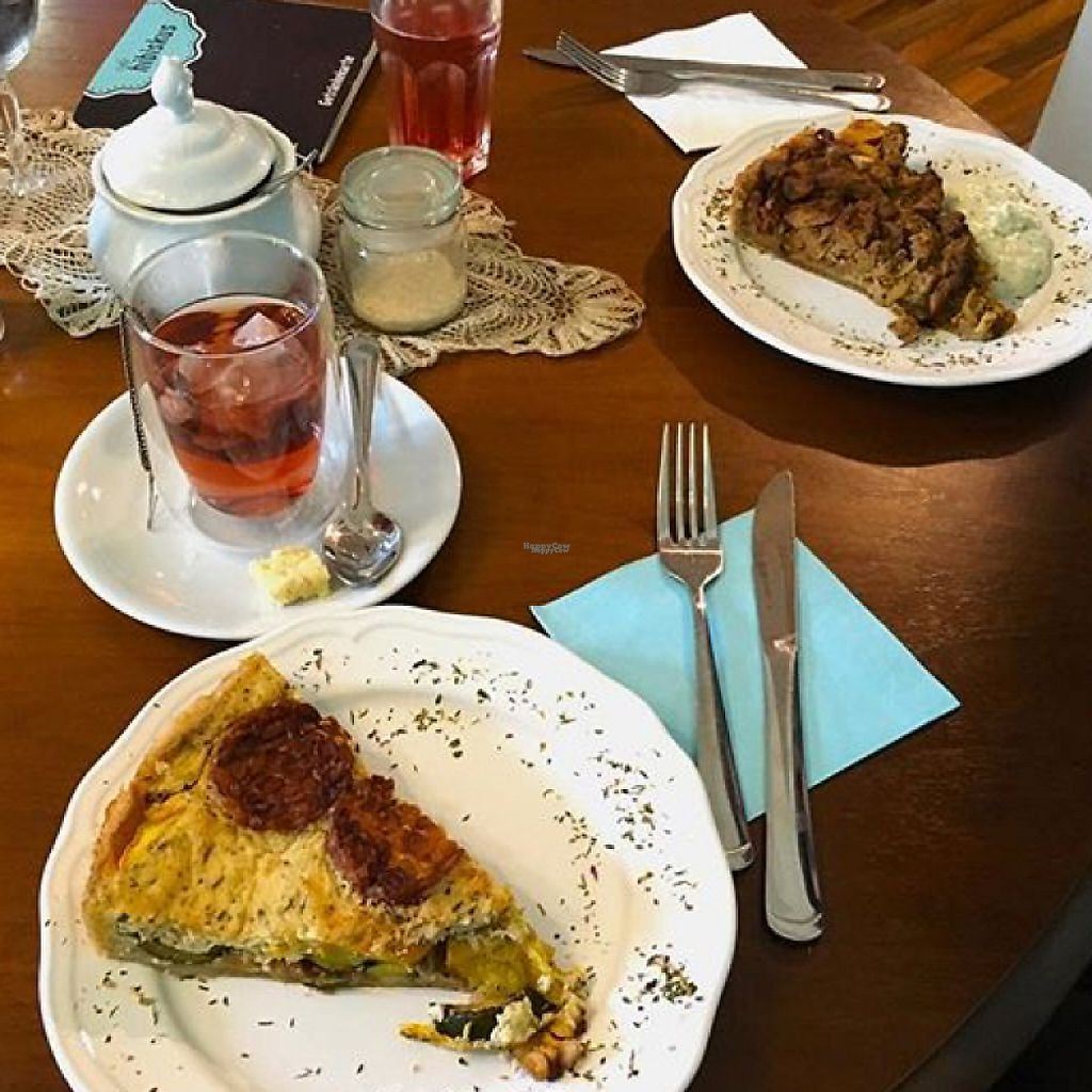 """Photo of Cafe Hibiskus  by <a href=""""/members/profile/Lenchen"""">Lenchen</a> <br/>unglaublich leckere quiches  <br/> February 11, 2017  - <a href='/contact/abuse/image/43348/225179'>Report</a>"""