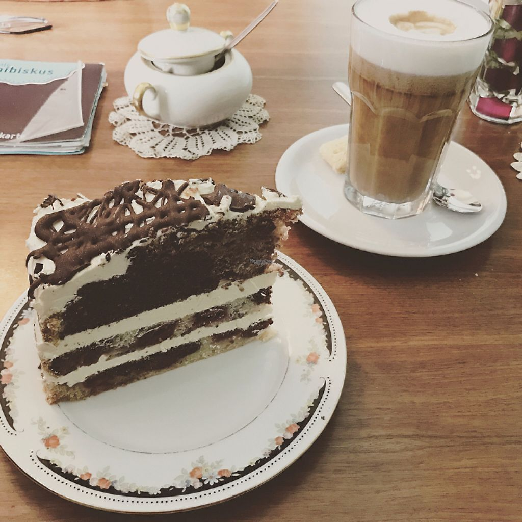 """Photo of Cafe Hibiskus  by <a href=""""/members/profile/LolaNachtigall"""">LolaNachtigall</a> <br/>cake heaven, all vegan :) <br/> March 4, 2017  - <a href='/contact/abuse/image/43348/232505'>Report</a>"""