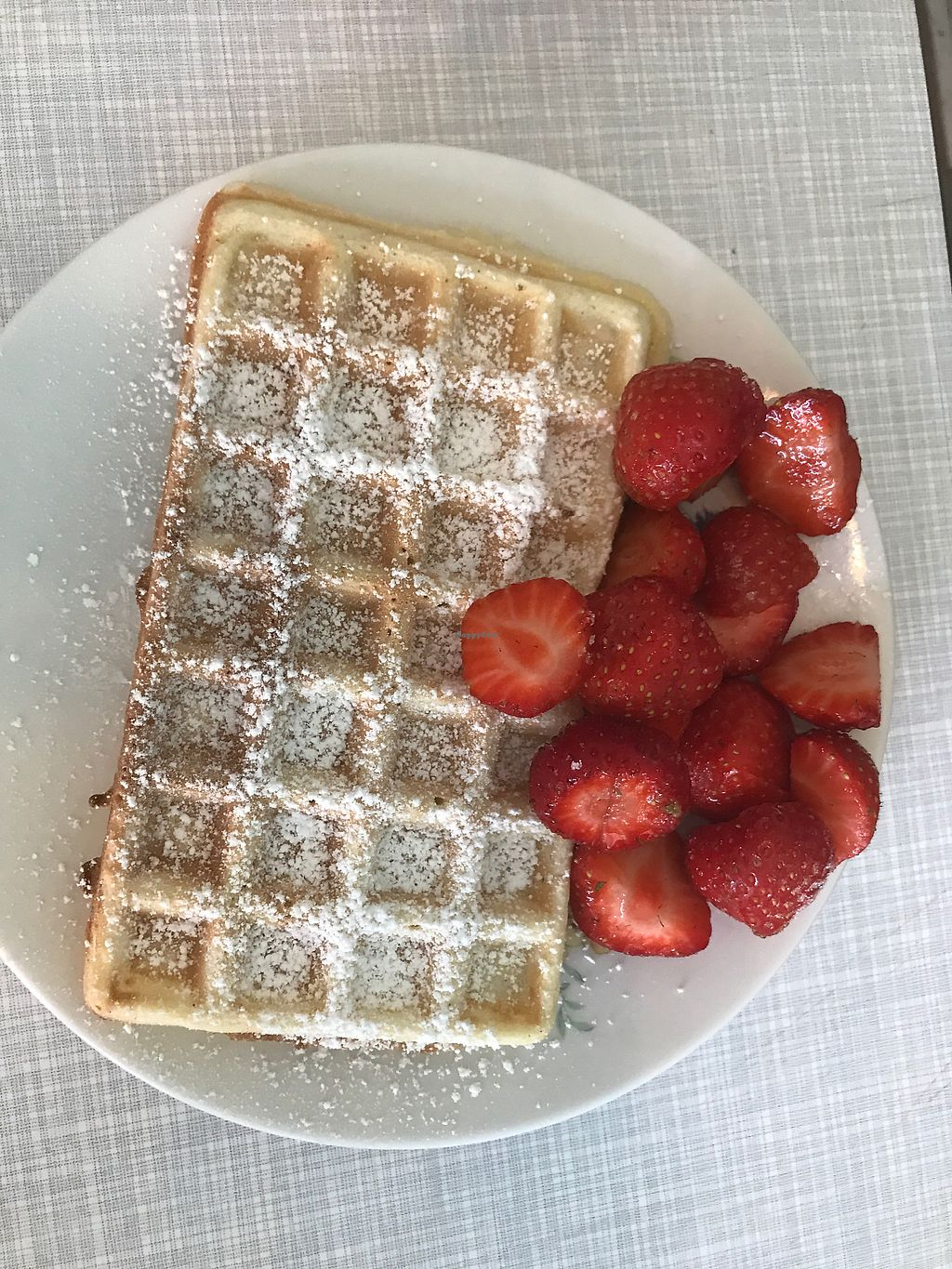 """Photo of Cafe Hibiskus  by <a href=""""/members/profile/Skye"""">Skye</a> <br/>waffle with berries <br/> July 22, 2017  - <a href='/contact/abuse/image/43348/283168'>Report</a>"""