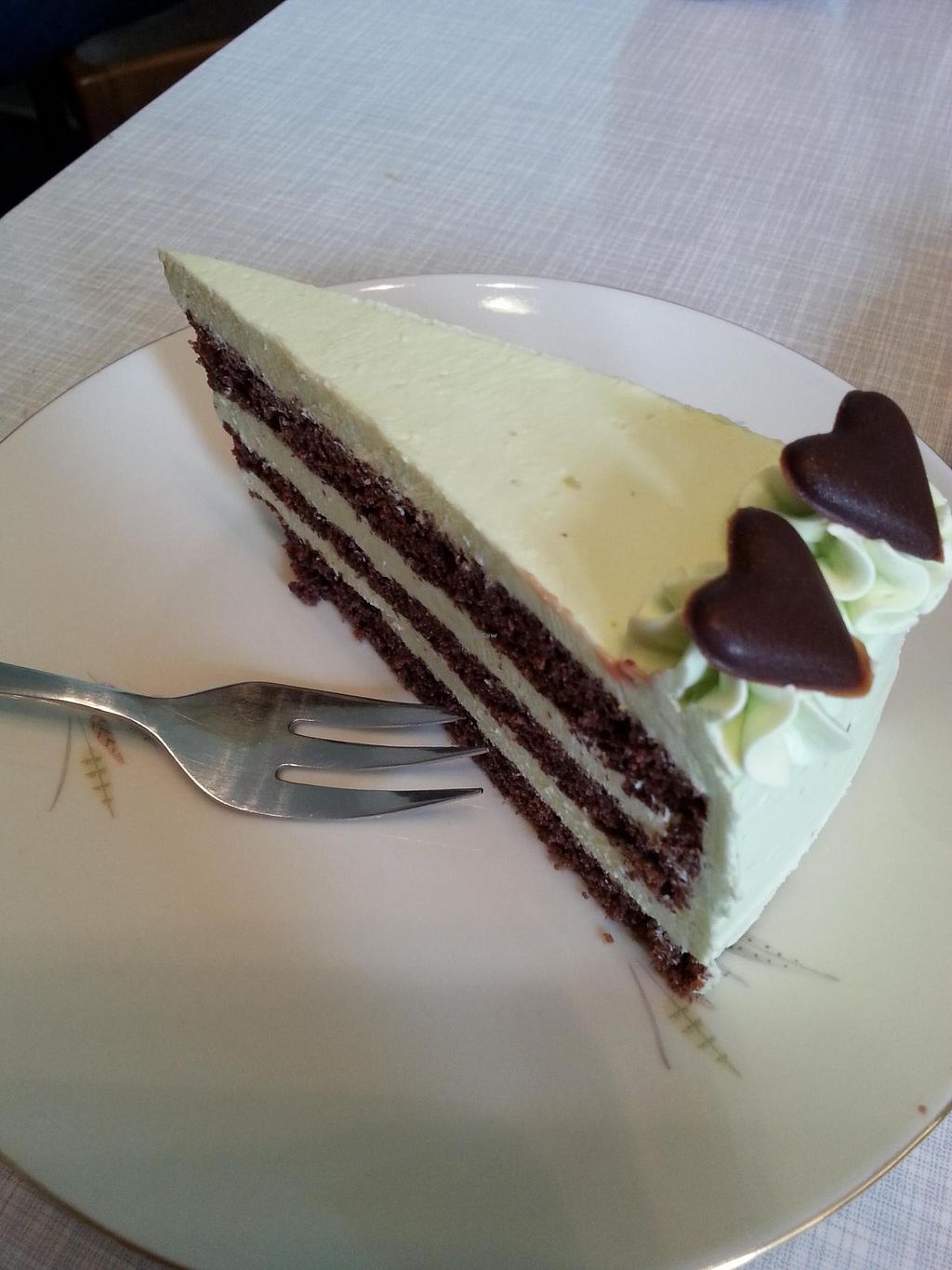 """Photo of Cafe Hibiskus  by <a href=""""/members/profile/coi"""">coi</a> <br/>Mint-chocolate-cake  <br/> March 1, 2015  - <a href='/contact/abuse/image/43348/94486'>Report</a>"""