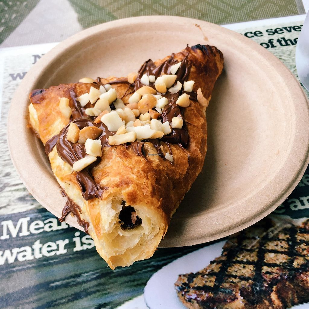 """Photo of Evolution Bakery and Cafe  by <a href=""""/members/profile/Stephaneen"""">Stephaneen</a> <br/>Chocolate banana macadamia nut turnover -- I'm drooling just thinking about this! <br/> March 21, 2018  - <a href='/contact/abuse/image/43352/373525'>Report</a>"""