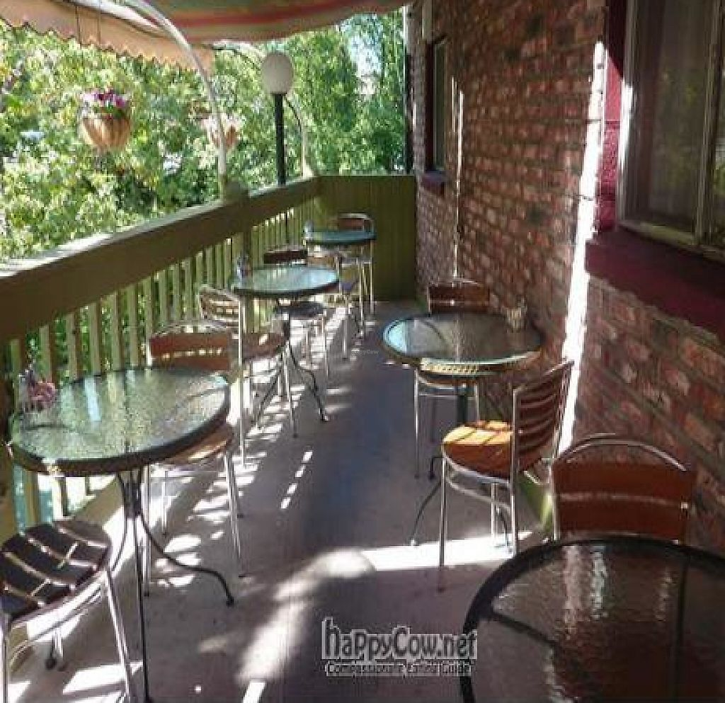 """Photo of Greenleaf Restaurant  by <a href=""""/members/profile/daniel"""">daniel</a> <br/>Deck seating...over looks Lithia Creek...open year round <br/> February 10, 2011  - <a href='/contact/abuse/image/4339/218632'>Report</a>"""
