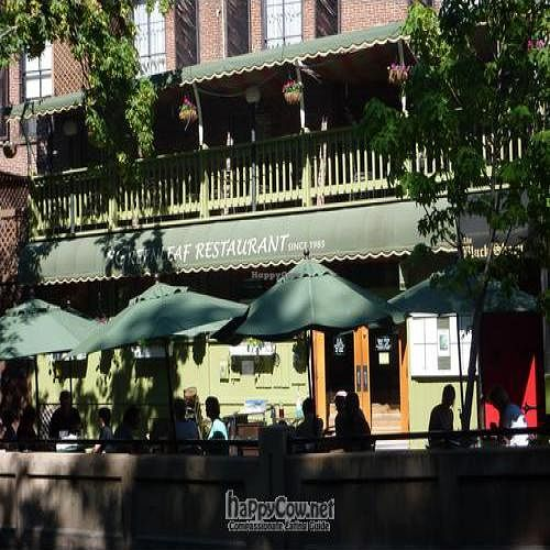 """Photo of Greenleaf Restaurant  by <a href=""""/members/profile/daniel"""">daniel</a> <br/>Creek side seating...Spring & Summer <br/> February 10, 2011  - <a href='/contact/abuse/image/4339/7351'>Report</a>"""
