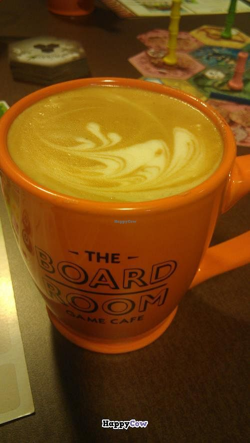 """Photo of The Board Room Game Cafe  by <a href=""""/members/profile/QuothTheRaven"""">QuothTheRaven</a> <br/>Jitterbug sodas gingerbread soy latte <br/> December 1, 2013  - <a href='/contact/abuse/image/43426/59665'>Report</a>"""