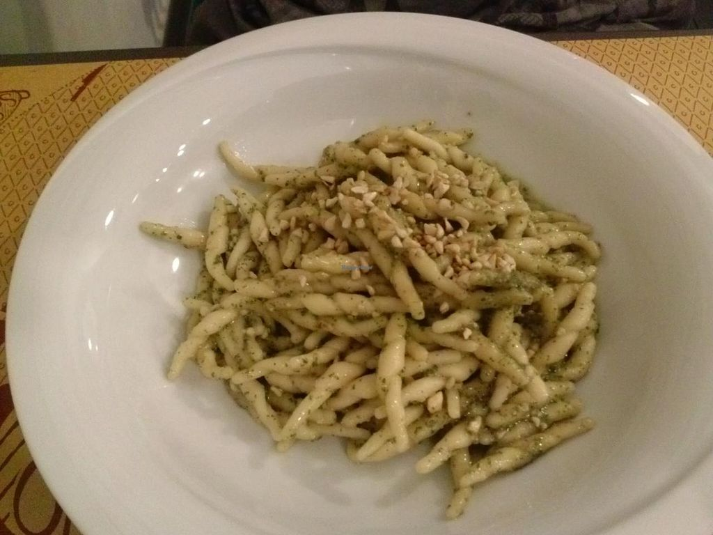 "Photo of So What Ristorante Vegan  by <a href=""/members/profile/Sonja%20and%20Dirk"">Sonja and Dirk</a> <br/>pesto pasta <br/> July 14, 2015  - <a href='/contact/abuse/image/43434/109273'>Report</a>"
