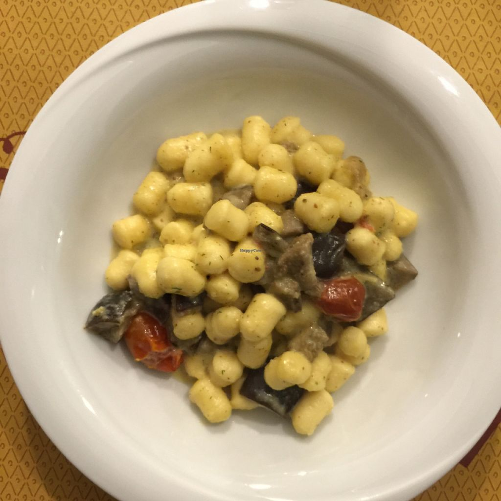 "Photo of So What Ristorante Vegan  by <a href=""/members/profile/earthville"">earthville</a> <br/>gnochetti  <br/> September 30, 2015  - <a href='/contact/abuse/image/43434/119656'>Report</a>"