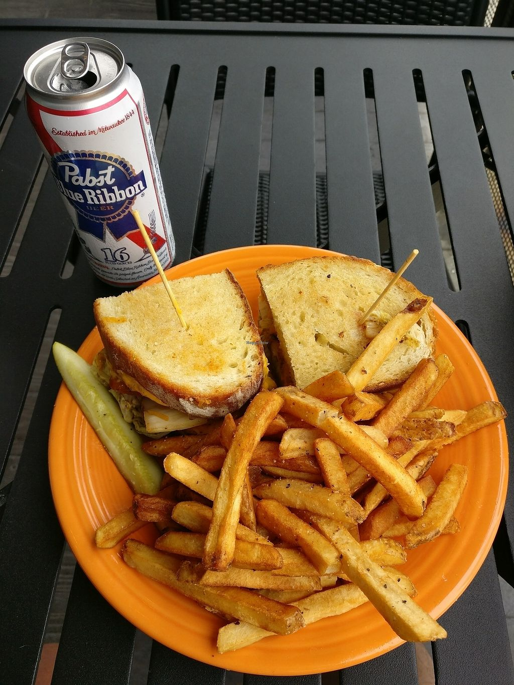 """Photo of Melt Bar & Grilled - High St  by <a href=""""/members/profile/Nogd"""">Nogd</a> <br/>Parmageddon <br/> July 6, 2017  - <a href='/contact/abuse/image/43446/277272'>Report</a>"""