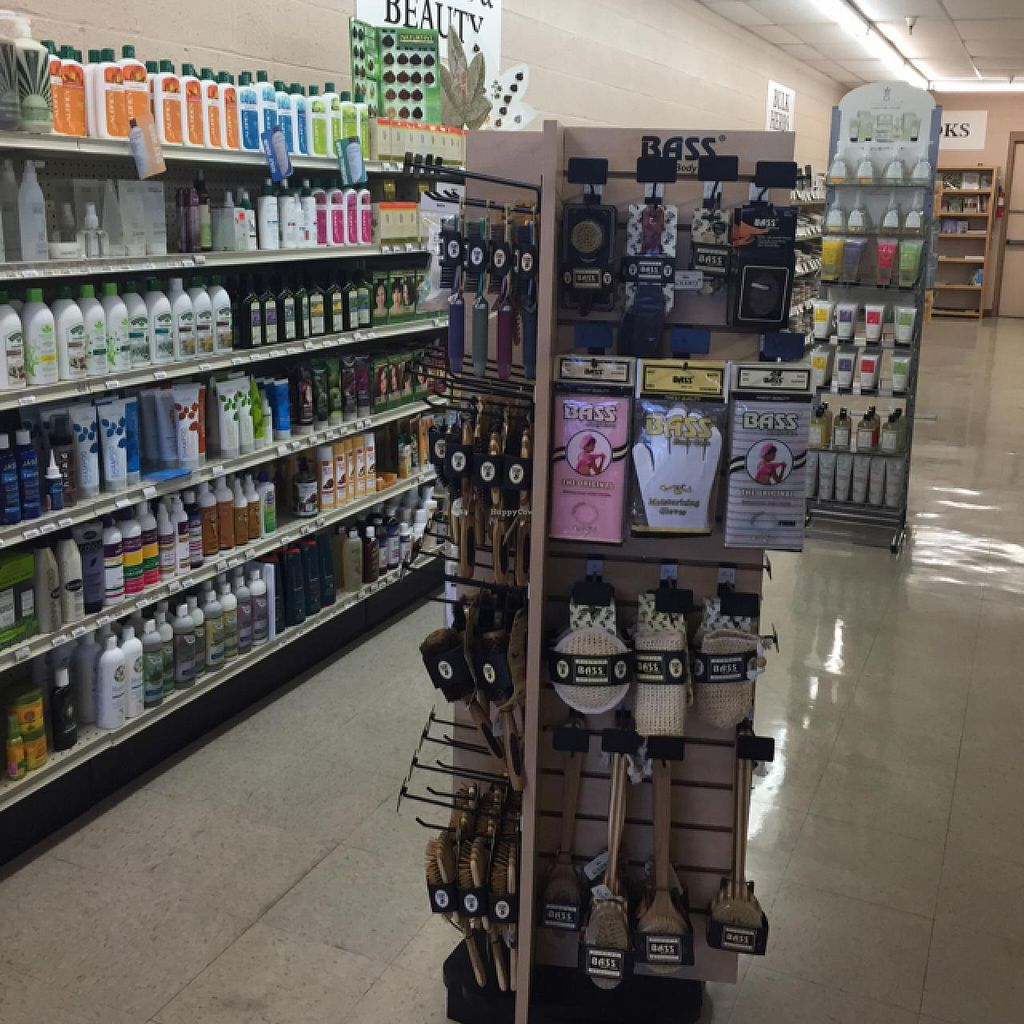 """Photo of Nature's Health Shoppe  by <a href=""""/members/profile/Veganvali"""">Veganvali</a> <br/>lots of beauty products <br/> June 10, 2015  - <a href='/contact/abuse/image/43471/105317'>Report</a>"""