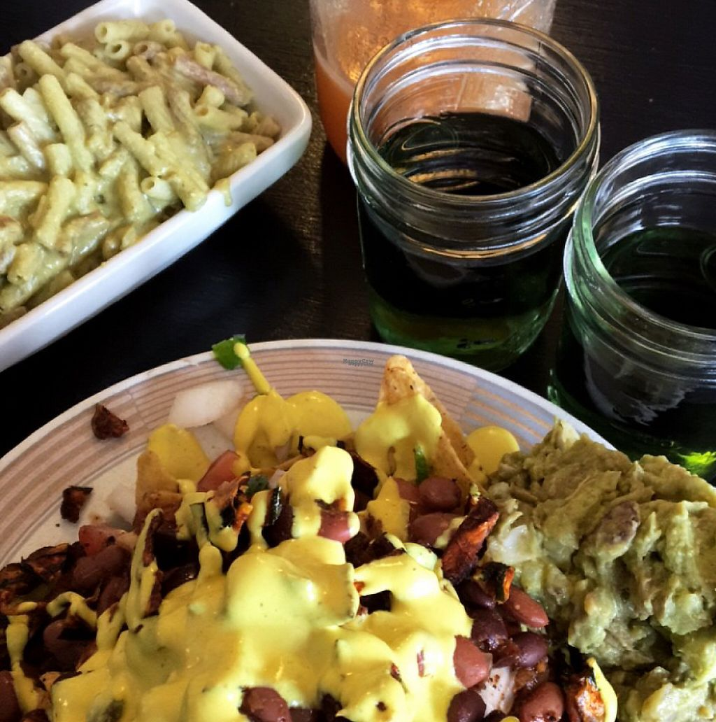 """Photo of Whyld Ass Coffee Shop  by <a href=""""/members/profile/EllenSummers"""">EllenSummers</a> <br/>Nachos, Macaroni and Juice  <br/> March 5, 2017  - <a href='/contact/abuse/image/43474/233176'>Report</a>"""