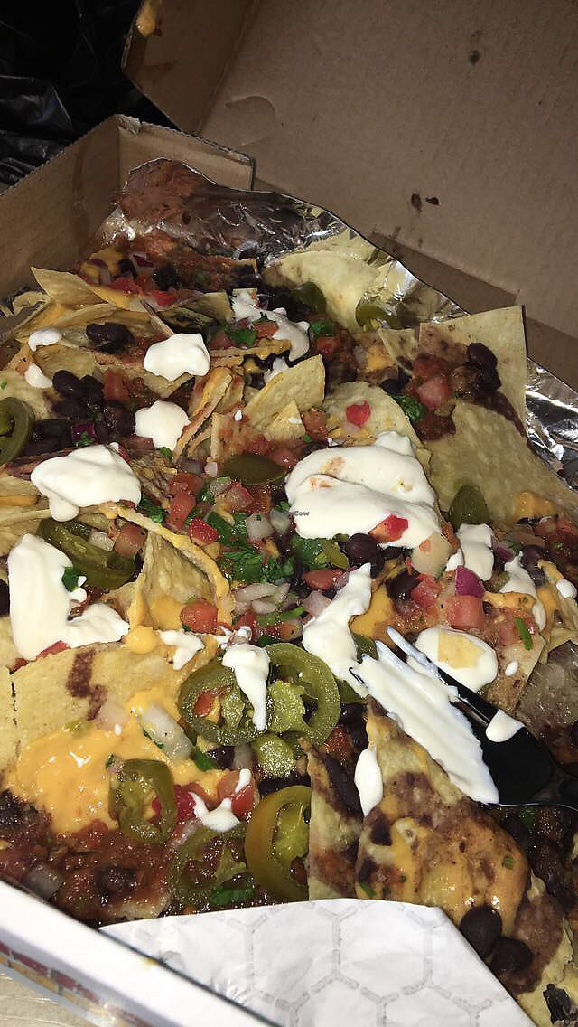 """Photo of Nacho Daddy  by <a href=""""/members/profile/josiekc14"""">josiekc14</a> <br/>Loaded Vegan Nachos <br/> April 8, 2018  - <a href='/contact/abuse/image/43486/382384'>Report</a>"""