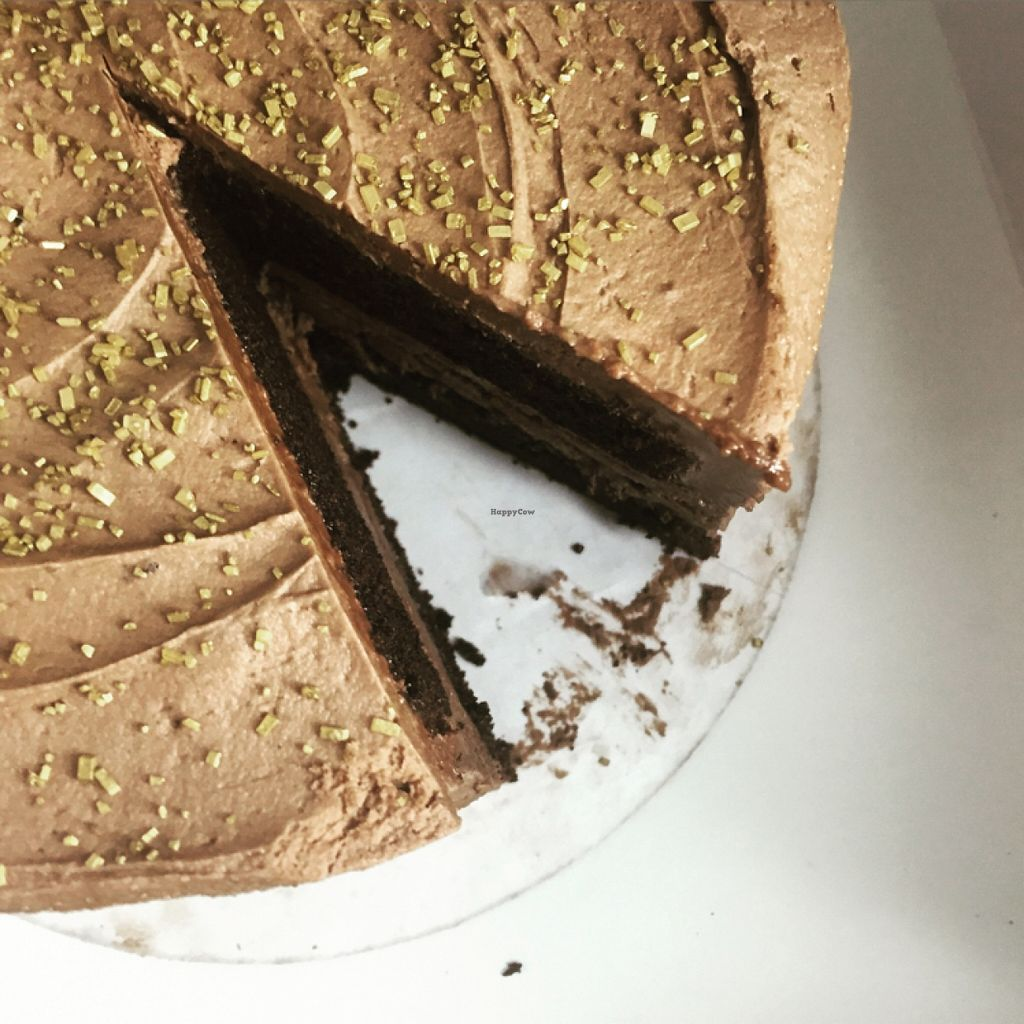 """Photo of TownHall  by <a href=""""/members/profile/KaylaBarnes"""">KaylaBarnes</a> <br/>Specialty Vegan Cake on Monday Vegan Night! <br/> January 31, 2016  - <a href='/contact/abuse/image/43518/134404'>Report</a>"""