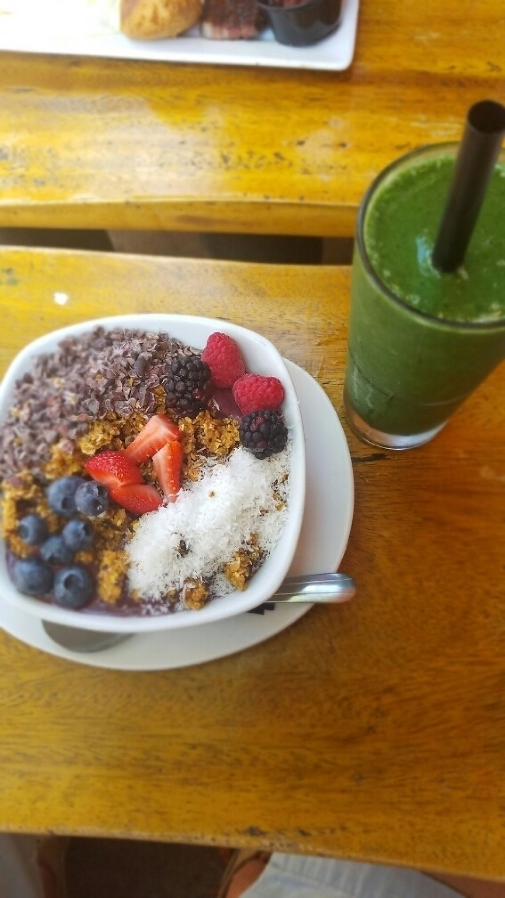 """Photo of TownHall  by <a href=""""/members/profile/GregoryTheGrape"""">GregoryTheGrape</a> <br/>Açai Bowl + Fortitude Smoothie <br/> March 14, 2017  - <a href='/contact/abuse/image/43518/236259'>Report</a>"""