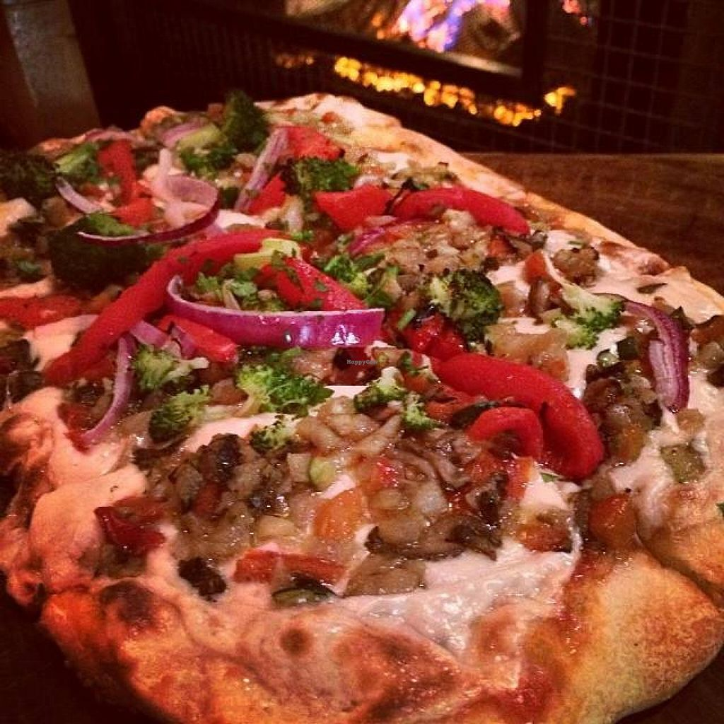 """Photo of TownHall  by <a href=""""/members/profile/KaylaBarnes"""">KaylaBarnes</a> <br/>Westside Market Veggie Pizza, Vegan Style!  <br/> January 26, 2014  - <a href='/contact/abuse/image/43518/63164'>Report</a>"""