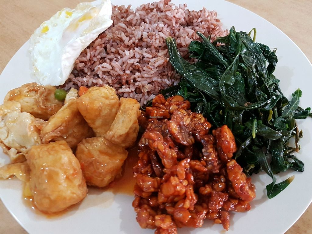 """Photo of Nasi Padang Vegetarian  by <a href=""""/members/profile/LiQi"""">LiQi</a> <br/>nice <br/> February 17, 2018  - <a href='/contact/abuse/image/43556/360221'>Report</a>"""