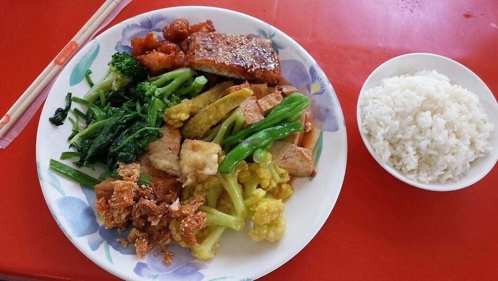 """Photo of Ming Der Vegetarian Buffet  by <a href=""""/members/profile/VanessaW"""">VanessaW</a> <br/>huge selection <br/> March 26, 2017  - <a href='/contact/abuse/image/43602/241051'>Report</a>"""