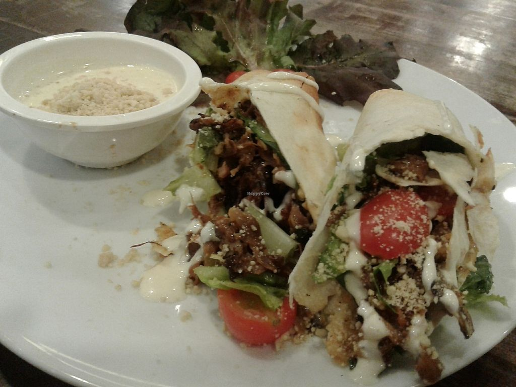 """Photo of Veganerie - Mercury Ville  by <a href=""""/members/profile/RunEatWorld"""">RunEatWorld</a> <br/>Caesar wrap <br/> June 13, 2017  - <a href='/contact/abuse/image/43651/268664'>Report</a>"""