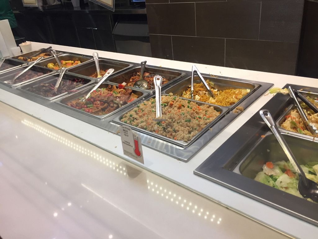 """Photo of Loving Hut  by <a href=""""/members/profile/LinnDaugherty"""">LinnDaugherty</a> <br/>the buffet / also have various noodle soups and a salad to choose from <br/> February 10, 2017  - <a href='/contact/abuse/image/43665/224833'>Report</a>"""