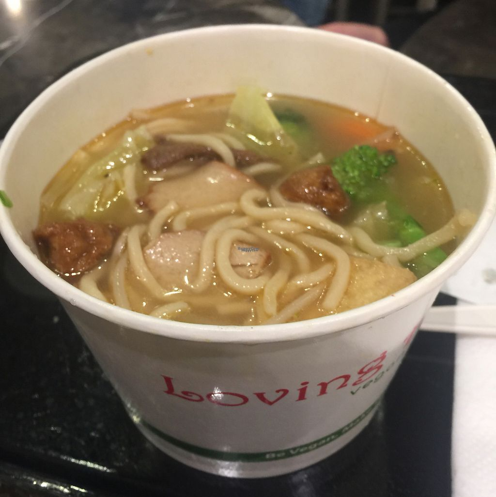 """Photo of Loving Hut  by <a href=""""/members/profile/VegAnne_Ca"""">VegAnne_Ca</a> <br/>get the steamed veggies and add to miso ramen - yaasss <br/> March 4, 2017  - <a href='/contact/abuse/image/43665/232409'>Report</a>"""