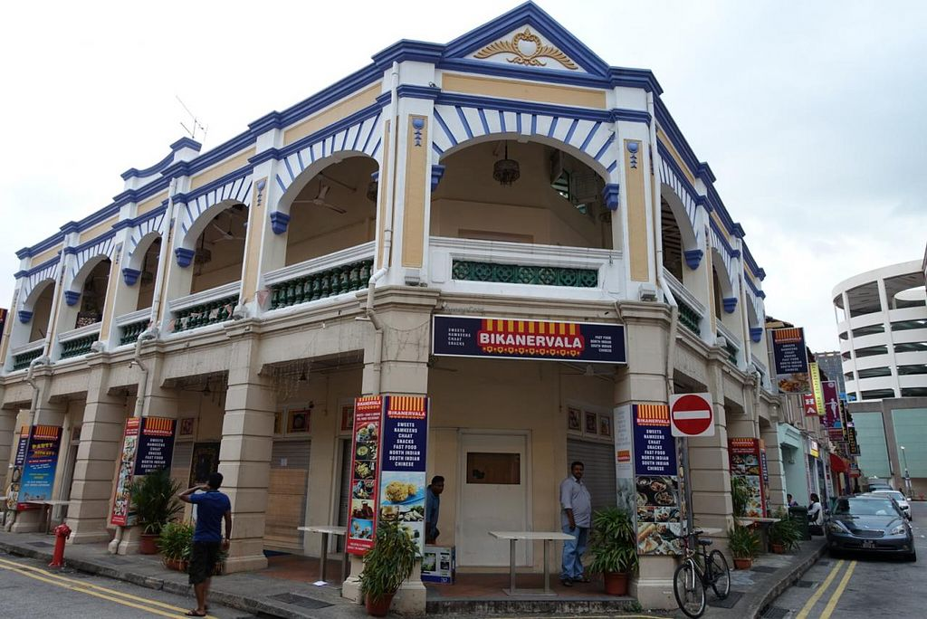 """Photo of CLOSED: Bikanervala  by <a href=""""/members/profile/JimmySeah"""">JimmySeah</a> <br/>love this restaurant building <br/> January 5, 2015  - <a href='/contact/abuse/image/43696/89580'>Report</a>"""