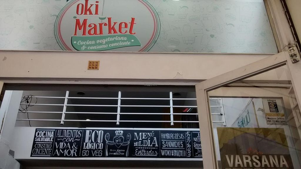 """Photo of Oki Market and Restaurant  by <a href=""""/members/profile/AngieQuijanoVeggie"""">AngieQuijanoVeggie</a> <br/>Entrance <br/> June 24, 2015  - <a href='/contact/abuse/image/43734/107193'>Report</a>"""