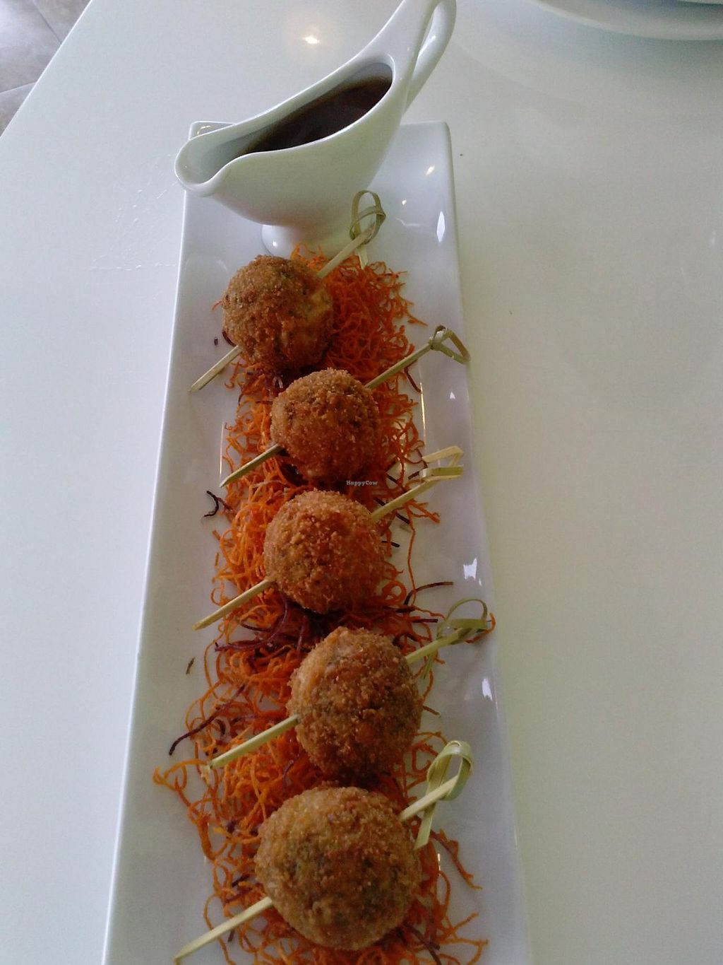 """Photo of Satdha Kitchen  by <a href=""""/members/profile/Sonja%20and%20Dirk"""">Sonja and Dirk</a> <br/>mung bean croquettes <br/> July 20, 2014  - <a href='/contact/abuse/image/43755/74569'>Report</a>"""
