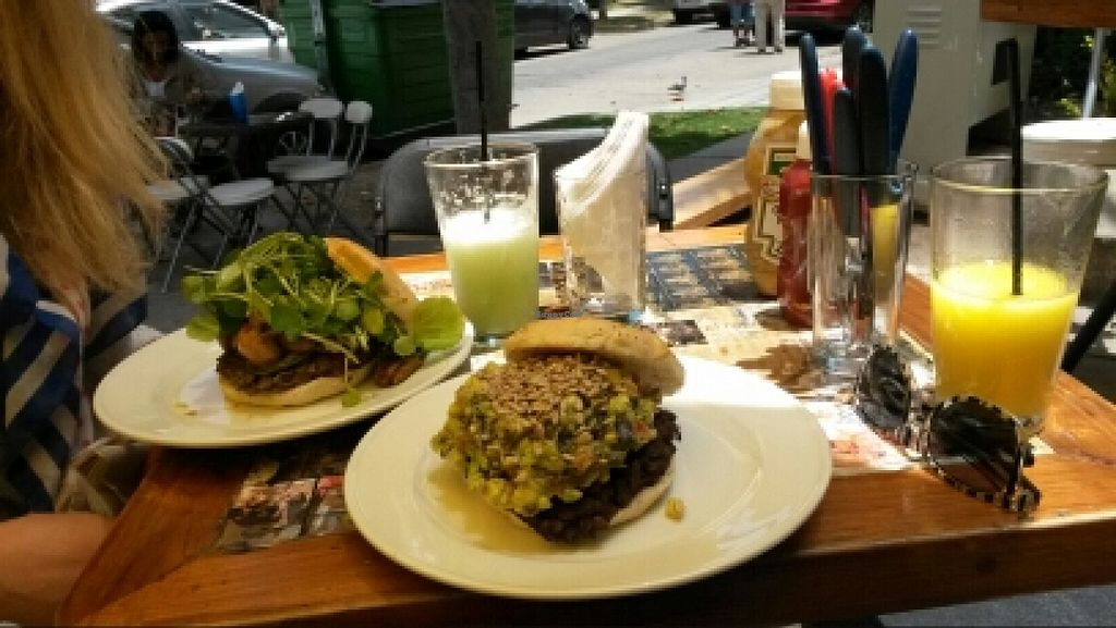 "Photo of A Mano Gin & Burgers  by <a href=""/members/profile/sosolala"">sosolala</a> <br/>Big burgers and juices <br/> January 5, 2016  - <a href='/contact/abuse/image/43759/131154'>Report</a>"