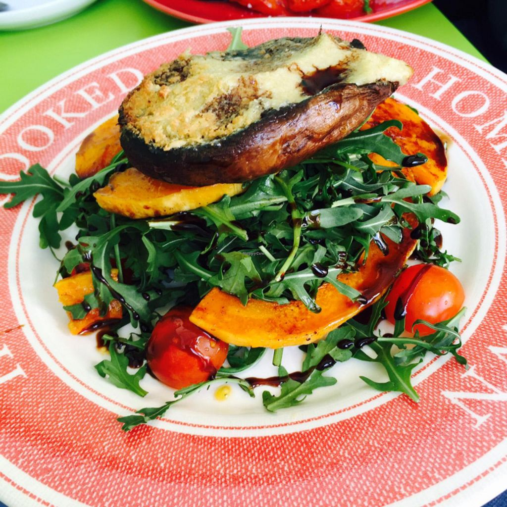 """Photo of The Almond Tree  by <a href=""""/members/profile/Tomericko"""">Tomericko</a> <br/>mushroom salad with vegan cheese  <br/> April 6, 2015  - <a href='/contact/abuse/image/43765/98016'>Report</a>"""