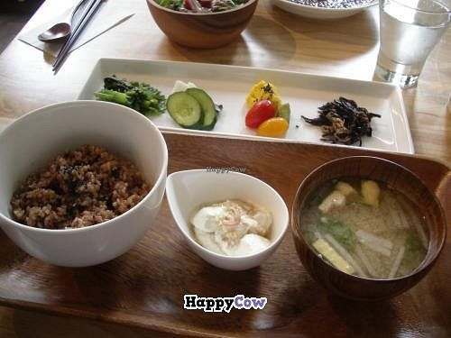 """Photo of Laruna  by <a href=""""/members/profile/Ricardo"""">Ricardo</a> <br/>Lunch set 1000yen (vegan) <br/> December 5, 2013  - <a href='/contact/abuse/image/43766/59896'>Report</a>"""