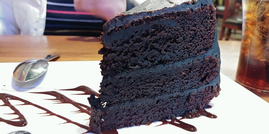 """Photo of Bueno Loco Restaurante  by <a href=""""/members/profile/pritchstan"""">pritchstan</a> <br/>Their vegan chocolate cake!  <br/> February 3, 2018  - <a href='/contact/abuse/image/43769/354616'>Report</a>"""