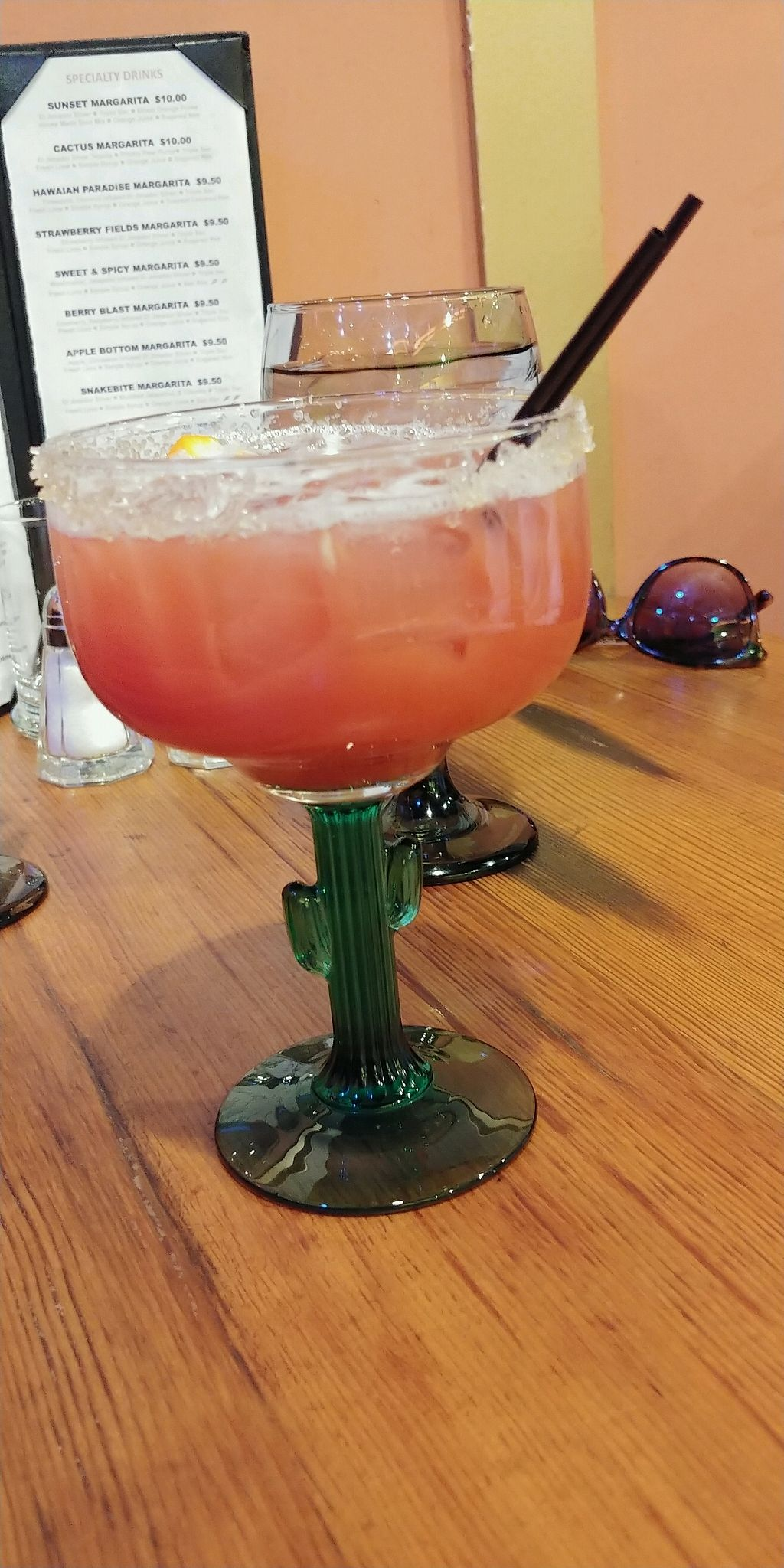 """Photo of Bueno Loco Restaurante  by <a href=""""/members/profile/pritchstan"""">pritchstan</a> <br/>Sunset margarita <br/> February 3, 2018  - <a href='/contact/abuse/image/43769/354619'>Report</a>"""