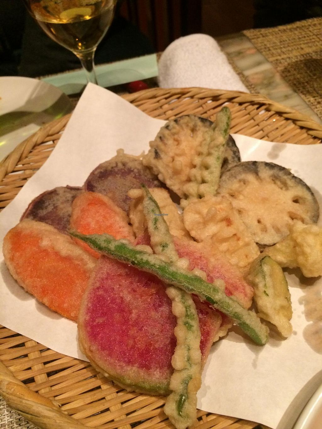"""Photo of Sumi Bio  by <a href=""""/members/profile/Meggie%20and%20Ben"""">Meggie and Ben</a> <br/>Tempura vegetables <br/> December 31, 2014  - <a href='/contact/abuse/image/43772/89114'>Report</a>"""